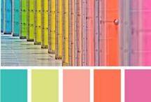 colour inspirations / by Pamela Grady
