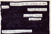 words. / by Hannah Ours