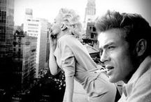 James & Marilyn / She needs a happy ending. / by Shelly Schwartz