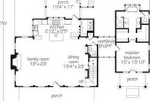 house plans / I am absolutely obsessed with floor plans  / by Grace Cox