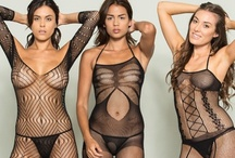 Black on Black / Seductive black lingerie made with the finest textiles and sexiest accents