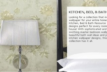 kitchen, bed & Bath Wall Paper / The Kitchen, bed and bath from Brewstar Wall Coverings! Order in Store!