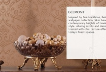Belmont Wall Paper Collection / The Belmont wall paper collection from Brewster Wallpaper - Order in store now!