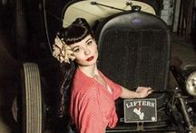 Pin Ups / Rockabilly / Pin up chicks, rocking that style.  / by Legs Eleven Hosiery