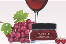 Red Red Wine / Our newest #farmtojar sensation, the Red Wine Peel, is yoour must-have this season! / by Aloette Cosmetics