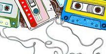 """cassette: art of mixtape / cassette, 1/4"""" tape, love and art"""