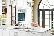 remodel: kitchen/tv room / by Meg Goodhead Cardoni