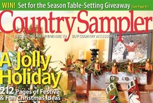 From Our November 2012 Issue / by Country Sampler Magazine