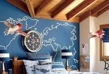 Nautical Nursery. / Baby's room by the sea. / by Tonya Strickland