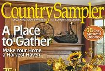 From our September 2013 issue / by Country Sampler Magazine