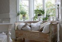 Seasonal Home - White For All Seasons / White is HOME...