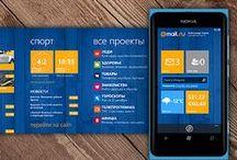 Windows Phone Design / by Francisco Barrios