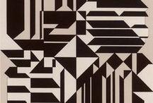 Geo / geometric print & textile design inspiration
