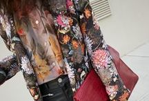 Prints on the Streets / printed street style  / by stylecouncil NYC