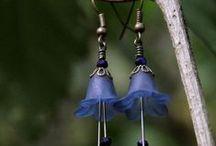 Cinnamon Cat Designs Earrings / handmade earrings by cinnamoncatdesigns