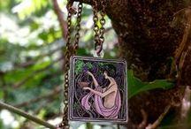 Cinnamon Cat Designs Necklaces / handmade necklaces by cinnamoncatdesigns