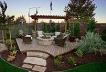 Outdoor Oasis / Ideas for transforming your backyard into your own outdoor oasis.