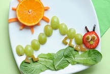 Fun Food / Fun ways to dress up lunches for the kiddos, fun finger foods for them to enjoy, or great mealtime ideas for those picky wee ones.