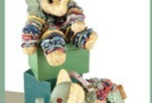 Bears and other animals to sew