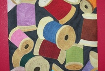 Quilted Spools / by Diane Chadwick