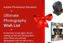Adobe Photoshop Elements Ultimate Photography Wish List Sweepstakes