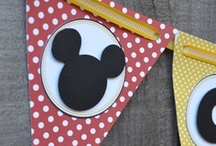 Mickey/Minnie Birthday / Decor, recipes, and ideas for a Mickey Mouse or Minnie Mouse themed party.