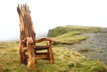 Storytelling Chairs / Original, handcrafted storytelling chairs from talented artists and makers, www.freerangedesigns.co.uk