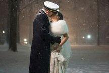 Winter Wedding Cover Ups / Winter wedding faux fur ideas