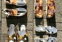 Sandals / Pedicures at the ready, sandal weather has arrived. Can't make up your mind which style to pick? Here's some summer inspiration...