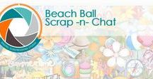 Beach Ball Scrap -n- Chat