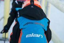 Copos Skiclub / Utilizamos la enseñanza del esquí y la metodología de la competición como instrumentos para lograr el desarrollo integral de los niños como deportistas y como personas.