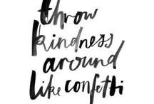 words words words / inspiration and positivity / by Jenny Southwick
