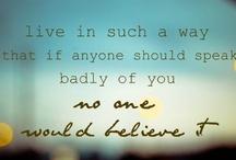 I admire...
