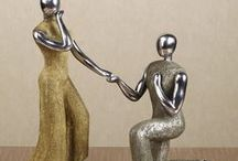 Wedding Gifts / Find a wedding gift that the special couple will cherish for years to come. These decorative sculptures and wall pieces are wonderful reminders of love, romance, and togetherness.