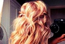 Hair / Curls.Straight.Wavy.Long.Short.Choppy.Thick.=Love / by Sara Hatfield