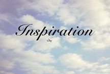 Inspiration / Photos, people, and fashions that inspire you to be different, be unique and be YOU!