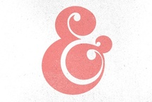 TYPO : ampersand / by miopop-up !