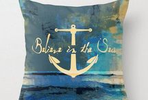 Nautical/ Coastal decor / by Susan Ewing