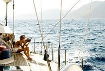 . FIRST MAET . / high seas nautical boating ocean sailing