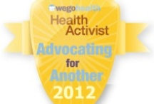 #HAAwards - Advocating for Another Award / Awarded to someone who raises awareness, speaks out, and advocates for the health condition of someone they love.  / by WEGO Health
