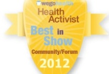 #HAAwards - Best in Show: Community / Awarded to someone who exemplifies the use of a community or forum to raise awareness and make connections.  / by WEGO Health