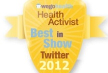 #HAAwards - Best in Show: Twitter / Awarded to someone who exemplifies the use of Twitter to raise awareness and make connections / by WEGO Health