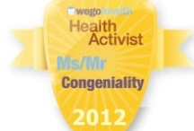 #HAAwards - Ms/Mr Congeniality Award / Awarded to someone who always has a kind word, a positive note, and a virtual hug.  / by WEGO Health