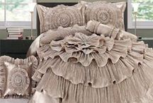 Romantic Ruffles / Yearning for the quaint, genteel atmosphere of yesteryear? These romantic home accents revive a little bygone beauty with layers of ruffles and a charming appearance. / by Touch of Class