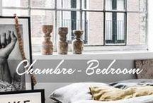 Chambre / Bedroom / Déco Chambre / Bedroom.