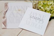 Personalised Wedding Stationery / We have 16 Stunning selections to choose from, all fully editable. Ribbons, envelopes and Swarovski diamantes can all be colour matched to your wedding theme.
