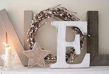WINTER FESTIVE / Decoration ideas for Holidays/Christmas.