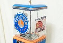 Lionel Train / vintage Northwestern machine  themed Lionel Trains