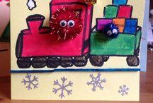 Christmas / Inspiration for Christmas cards and my own Christmas creations