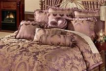 Dream Bedroom / What if your vision of a dream bedroom could materialize before your eyes? These gorgeous bedding ensembles will deliver the look you desire, whether it's upscale sophistication or quaint charm. / by Touch of Class